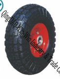 """Rubber Trolley Wheels with Metal Center (10""""X4.10/3.50-4)"""