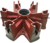 Spider 12 Axle Trailer Parts Manufacturer American Type 12t Trailer Rear Spider Spoke Wheel Axle