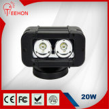 20W CREE Single LED Work Light Bar for Car