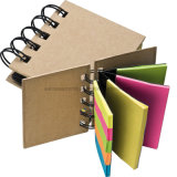 Small Ring-Binder with Coloured Memo Strips