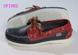 Men′s Soft Genuine Leather High Quality Boat Shoes