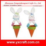 Easter Decoration (ZY13S770-1-2 40CM) Easter Hanging Rabbit Carrot Egg Bag