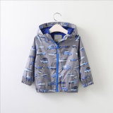 Fashion Boy's Car Hooded Jacket for Winter's Clothes