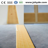 100mm Width Wooden Color Ceiling Panel Building PVC Material