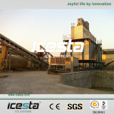 China Containerized Concrete Cooling Ice Plant System