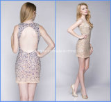 Sheath Prom Short Party Gowns Sequins Homecoming Cocktail Dresses Y1033
