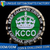 Metal Challenge Coin with Custom Logo Engraving