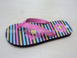 Women Ladies PE/PVC/TPR/EVA Foot Massage Flip Flops
