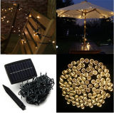 Solar Powered Christmas Xmas Party Festival Lights Decorations Waterproof White