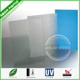 UV Coated PC Small Embossed Solid Polycarbonate Sheet for Indoors & Outdoors