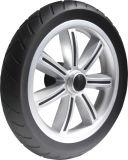 """9"""" Black PU Foam Stroller Wheel"""