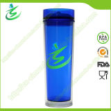 16 Oz Promotional Straw Acrylic Tumbler with Lid
