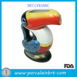Audacious Lifelike Toucan Shape Ceramic Drink Cup