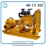 Horizontal Split Case Diesel Engine Centrifugal Pump for Waterworks
