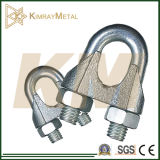 Malleable Galvanized Commercial Type Wire Rope Clip DIN741