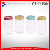 Wholesale Cheap Glass Honey Jar with Metal Lid