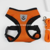 Doggy Product Colorful Mesh Dog Harness with Pet Leash
