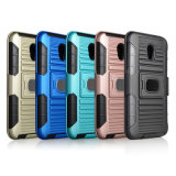 Newest High Quality Rugged Plastic Armor Case TPU PC 3 in 1 Kickstand Case for iPhone X Case
