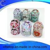 Wholesale Decorative Storage Metal Tin Can Tea Caddy