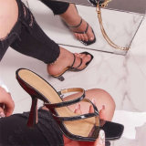 Wholesale Fashion Women Shoes Slippers High Heels Ladies Shoes Lady Shoes Sandals
