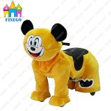 Mickey Plush Children Happy Electronic Walking Animal Toy Riding Car