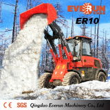 Everun CE Approved Farm Machinery 1.0ton Compact Wheel Loader