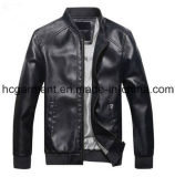 Motorcycle Suit, Men's Safety Waterproof PU Leather Jackets
