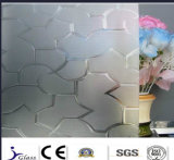 Strengthened High Quality Patterned Glass with Competitive Price