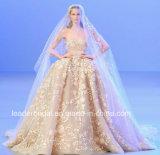 Luxury Bridal Ball Gowns Elie Saab Crystals Corset Wedding Dress Wdo76