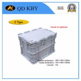 Piled Lockable Logistic Plastic Storage Turnover Container
