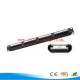 "19"" Cat5e 24P UTP Patch Panel/Wiring Block"