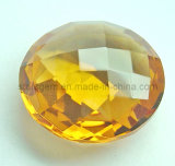 Champagne Faceted Synthetic Diamond for Fashion Jewelry