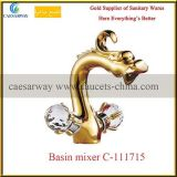 Cross Handle Basin Mixer Faucet