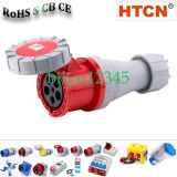 125A 3p+N+E/5p Industrial Connectors, Electrical Couplers/Receptacle/Outlet IP67