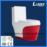 High-End Color Super Siphon Ceramic One-Piece Toilet Wc