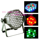 RGBW 3wx54 Waterproof PAR Lamp Stage Light with DMX512 Aluminum Spot Light Disco Effect LED Party