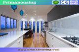 Import Kitchen Cabinet PVC Finish New Design Cupboard (PR-K2072)