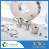 Permanent Neodymium Bar Magnet with Center Hole for Machine