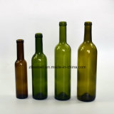 Green, Clear Bordeaux Wine Bottle with 200ml, 3750ml, 500ml, 750ml