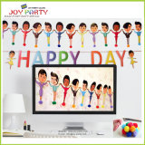 Paper Banner with Happy Day Garlands for Party Decoration