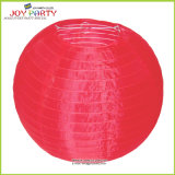 Chinese Tradtional Outdoor Red Nylon Lantern