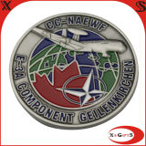 Professional Manufacture Supply Metal Air Force Coin