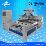 Best Selling FM0216-S4 Multispindle 3D CNC Router Machine with Rotary Devices