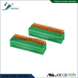 PCB Spring Terminal Block Connector pH2.54mm Straight Type