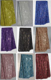 Fashion African Cotton Swiss Voile Laces/Organza Embroidery Garment Fabric (AL162)