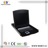 "Wide Screen Type 19"" 8 Port VGA LCD Kvm"