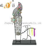 Beautiful Wrought Iron Jewelry Display Shelf (wy-4330)