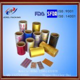 Gold Aluminum Foil Packing The Tablets and Capsules Packaging