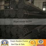 2 1/2′x1.8mm Round Black Steel Tubing