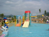 Parent-Child Theme Play Station Equipment, Kid′s Water House for Water Park